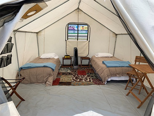 New Glamping Experience