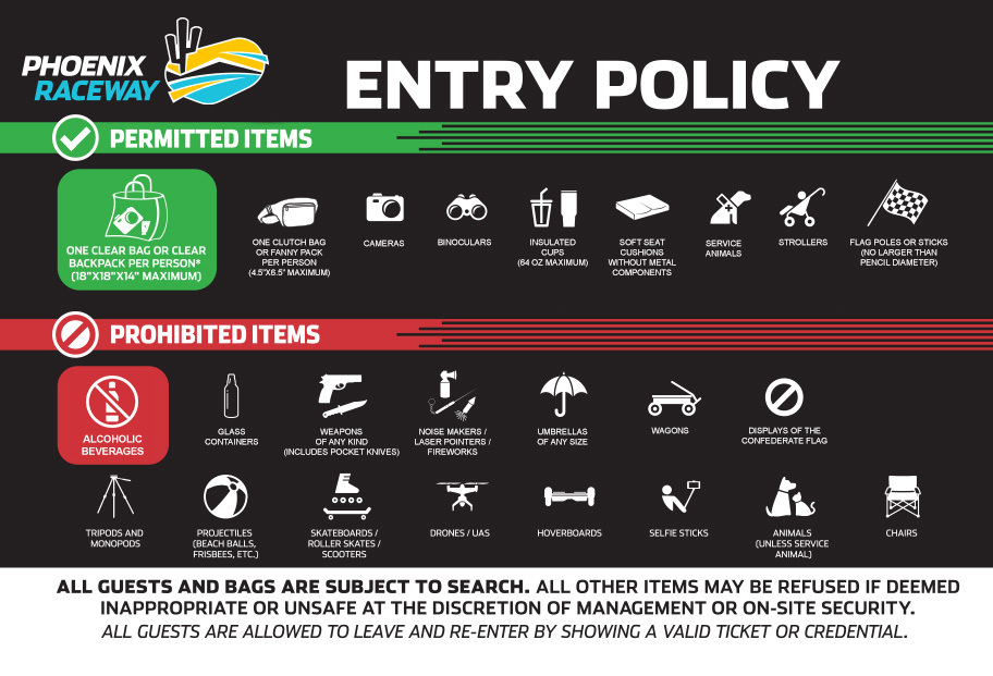 2021 Entry Gate Policy Update 4